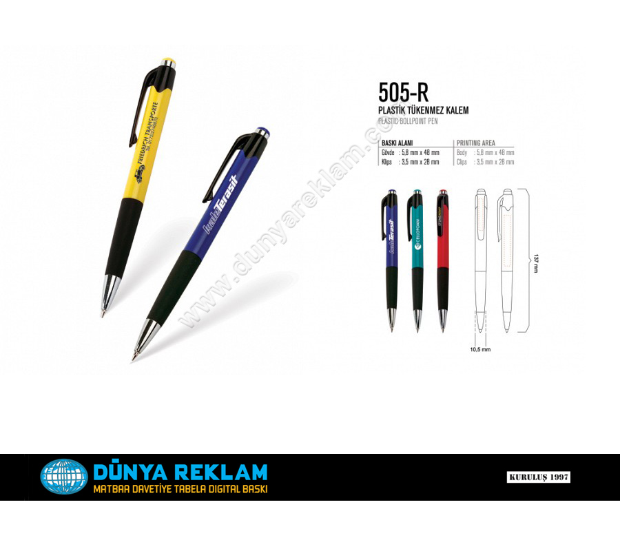Platik Kalemler